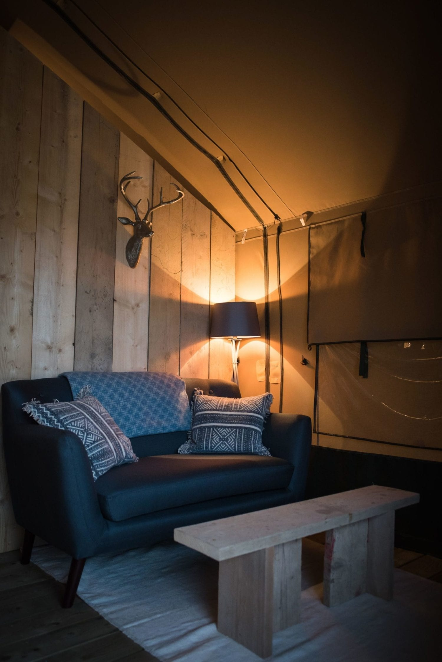 Cozy Glamping at The Barn