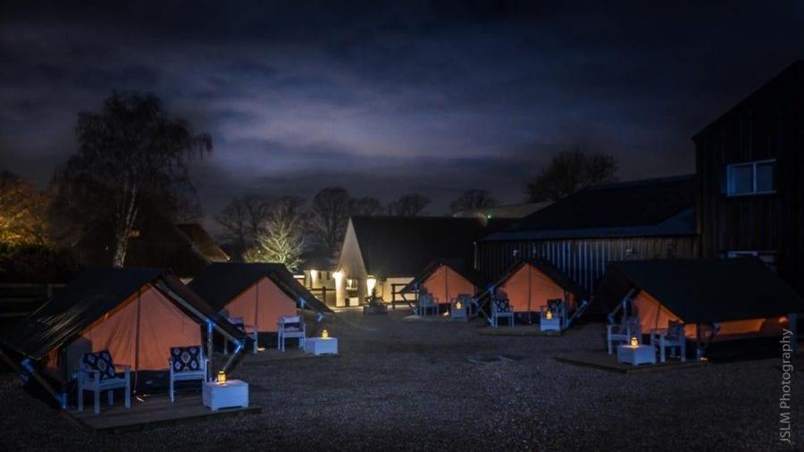 Glamping at The Barn at Alswick